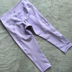 BuffBunny Camila Crop Leggings Lilac Purple Small